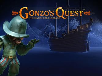 Gonzo's Quest Slot Review Logo