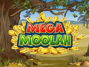 Mega Moolah Slot Review Logo