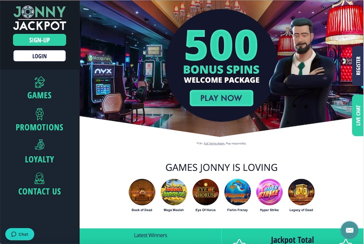 Jonny Jackpot Review