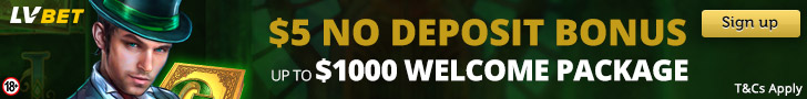 lvbet canada 1000$ welcome deposit bonus and no deposit bonus banner
